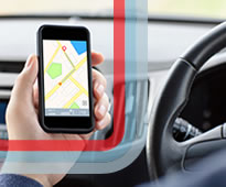 Smartphones pose a big road safety risk