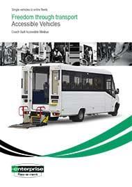 Coach Built 17 Seat Minibus – 6 Wheelchairs