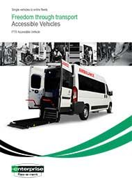 Accessible PTS 9 Seat Minibus – 2 Wheelchairs