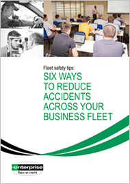 Six ways to reduce accidents across your business fleet