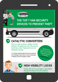 The top 7 van security devices to prevent theft