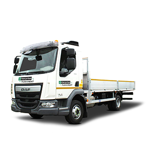 18T Dropside Vehicle with Flatbed Pick-up