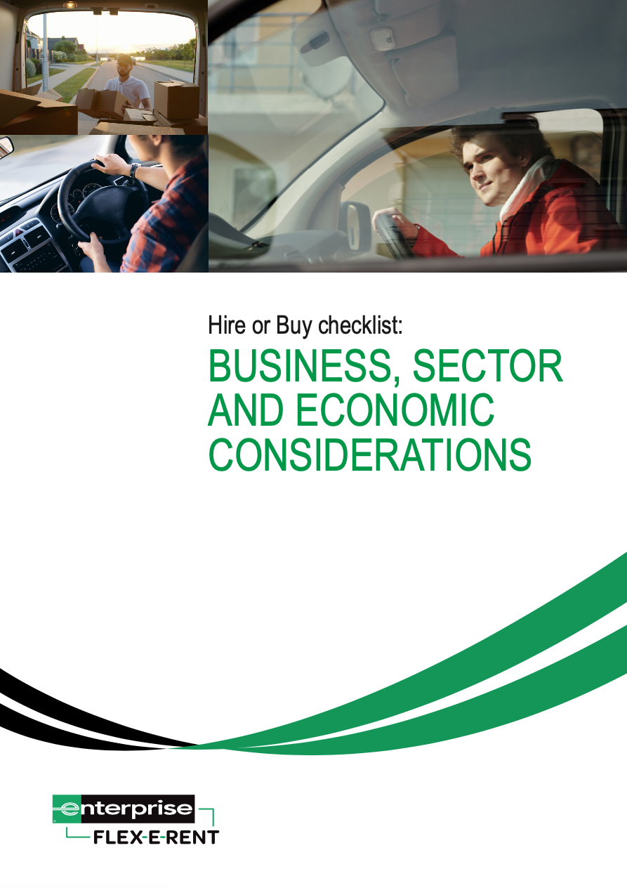 Hire or Buy checklist: Business, sector and economic considerations