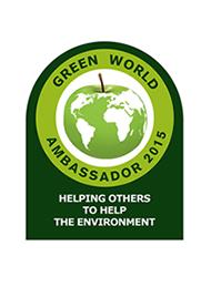 Green world ambassador 2015