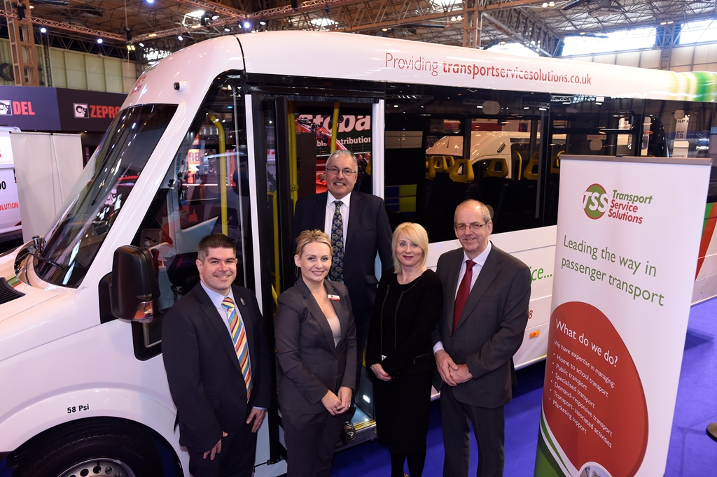 TSS awards Enterprise Flex-E-Rent its passenger transport fleet replacement programme