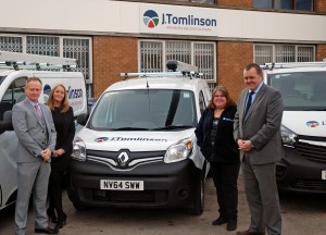 J Tomlinson takes milestone delivery from vehicle supplier Enterprise Flex-E-Rent