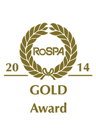RoSPA Gold Award 2014