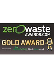 Zero waste awards gold award winner
