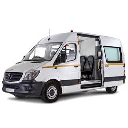 Picture of welfare van from Enterprise Flex-E-Rent