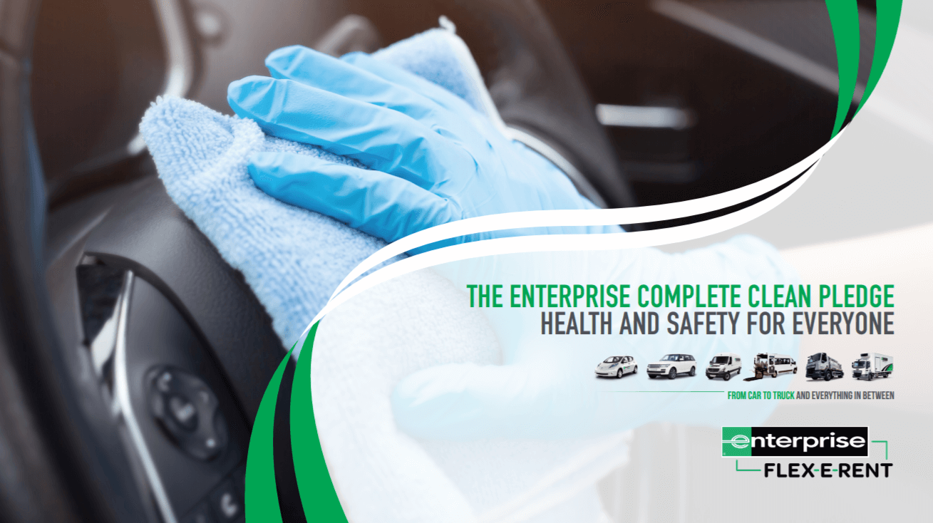 The Enterprise Complete Clean Pledge: Health and safety for everyone