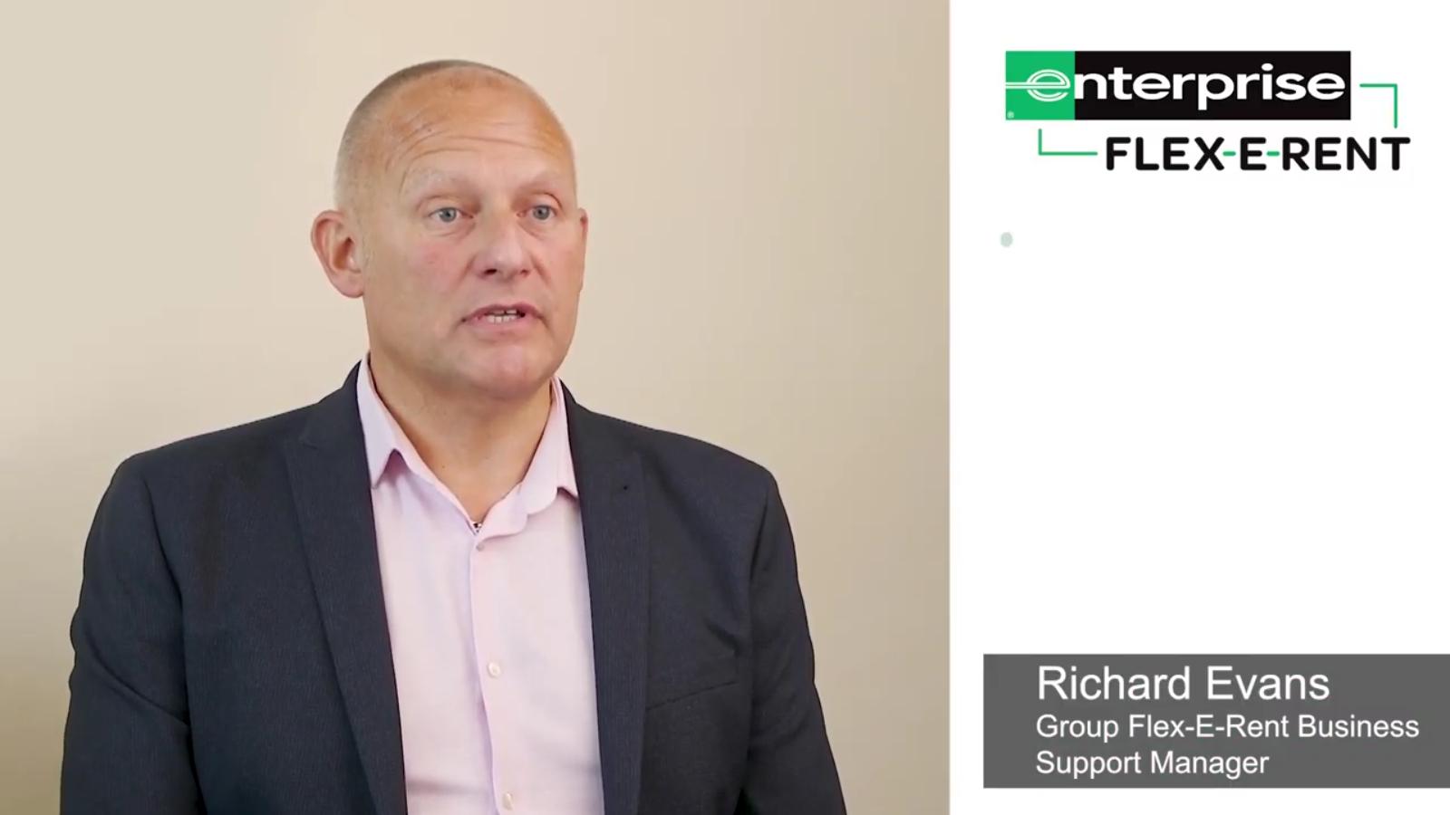 Group Fleet Business Support Manager, Enterprise Flex-E-Rent, Richard Evans – Customer Update