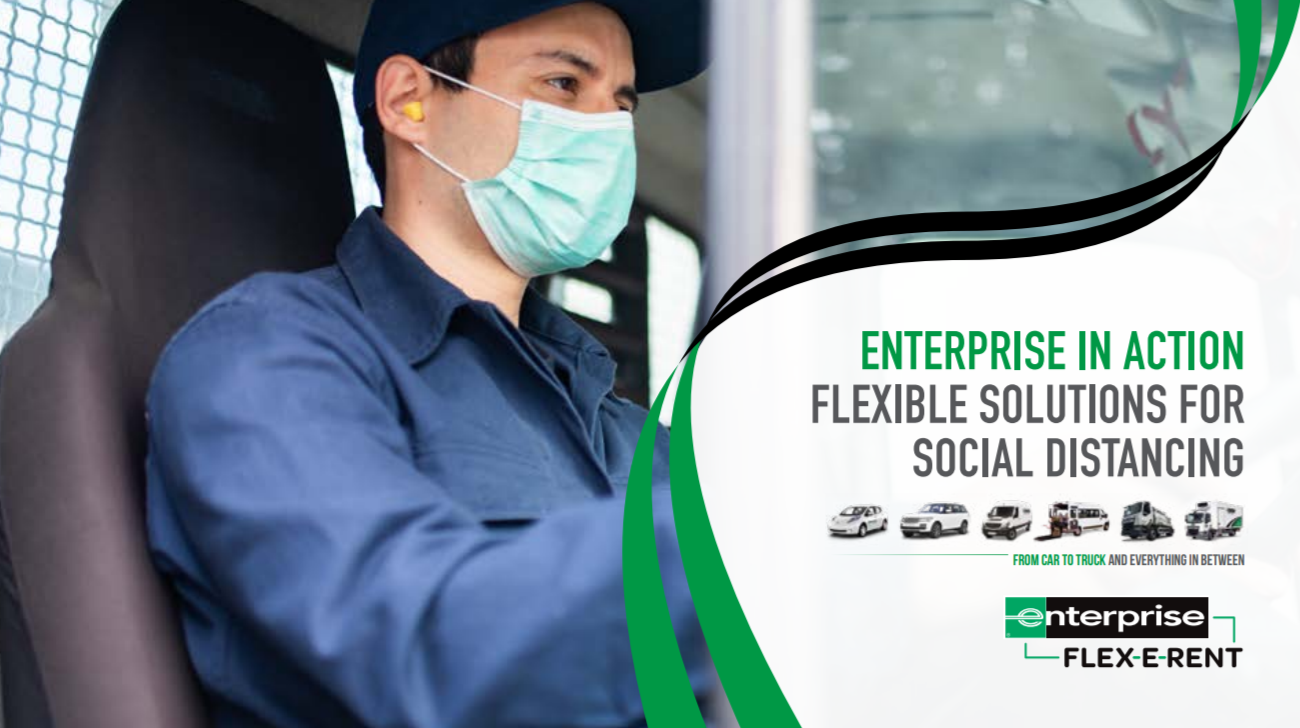 Enterprise in Action - Flexible solutions for social distancing