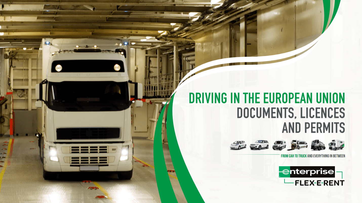 Driving in the European Union - Documents, Licences and Permits